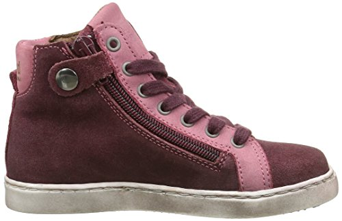 Bisgaard 31807216, Sneakers Hautes Mixte Enfant 705 Rose