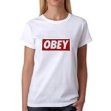 Illuminati Triangle Art Majestic Obey Damen T-Shirt