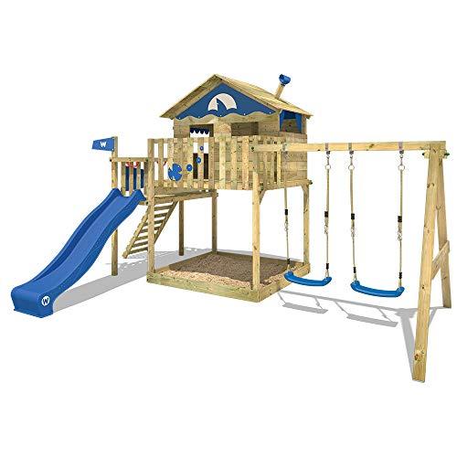 Wickey Smart Coast Parque infantil con tobogán y columpio