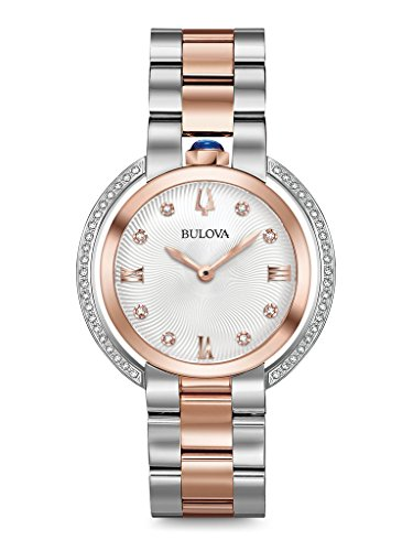 Bulova Diamond Ladies Women's Rubaiyat Watch 98R247