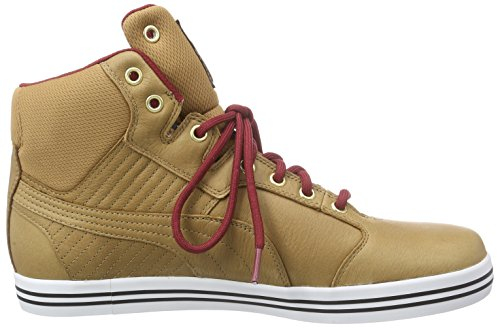Puma Tatau Mid L Gtx®, Sneakers Hautes homme Marron (chipmunk-rio Red-chestnut 05)