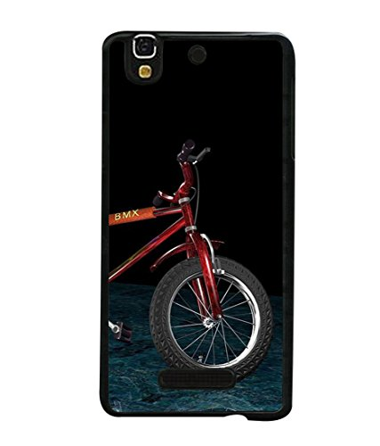 PrintVisa Designer Back Case Cover for Yu Yureka Plus YU5510A (cycle riding mirror perfect image)