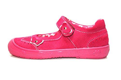 Richter Kinderschuhe , Ballerines pour fille Rose Rose Rose - Pink (fuchsia/weiss 3501)