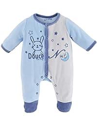 Sucre D Orge - sleepwear - Masculin - 1 - pyjama bebe gris 0 5ac43c976f6