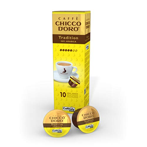 100 Capsule Caffitaly System Caffe' Chicco D'Oro Tradition