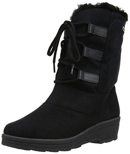 Rohde Shoes 287290, Damen Stiefel, Schwarz, 39 EU / 6 UK