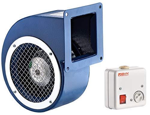 Radialventilator AC Zentrifugalventilator Lüfter Absauggebläse 250m³/h 120-60 inklusive Drehzahlregler