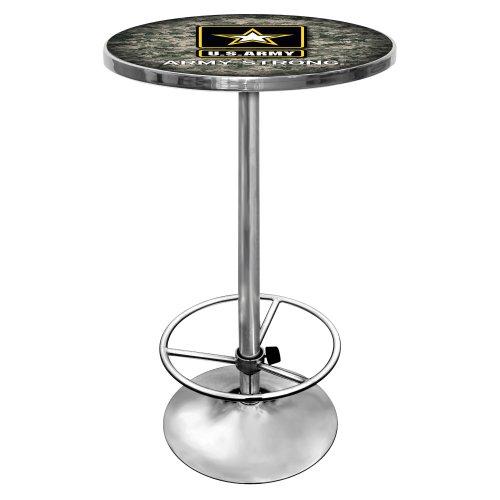 united-states-army-chrome-pub-table