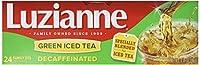Luzianne Green Iced Tea Decaffeinated Family Size 24 Tea Bags
