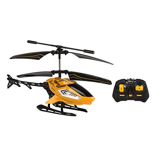 Sky Rover - Helicóptero teledirigido amarillo de 20 cm y 2 canales  (ColorBaby 85116)