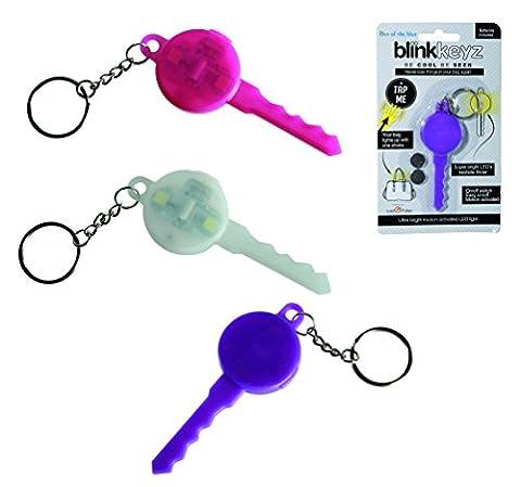 Blink Silikon Key Ring–weiß–Schlüsselanhänger–Mädchen, Mädchen, Kind, Kinder beliebtes, Best, Top Verkauf Strumpffüller Ideen Spielzeug,