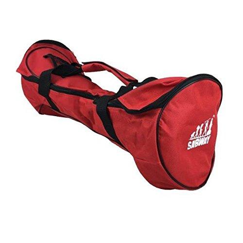 Bolsa de transporte roja para patinete auto equilibrio / hoverboard