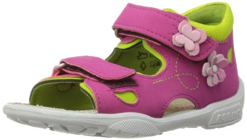 Ricosta Kittie M, Sandales fille Rose - Pink/Acido