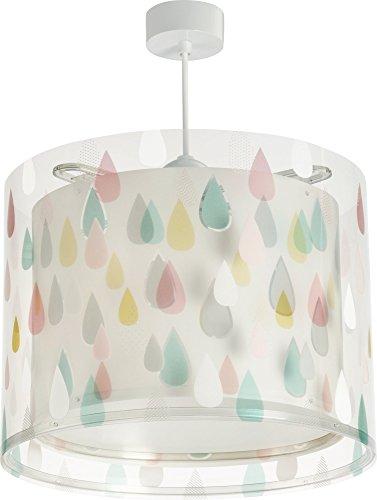 Dalber Color Rain, Colgante Gotas de lluvia de color, E27, Multicolor