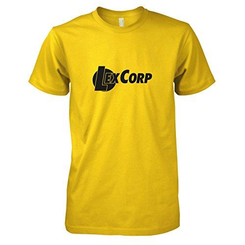 TEXLAB - Lex Corp - Herren T-Shirt, Größe XXL, gelb