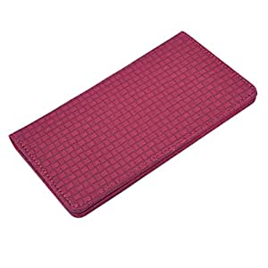 DCR Pu Leather case cover for iBall Andi 4.7G Cobalt (red)