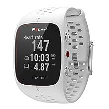 POLAR Unisex's M430 GPS Running Watch, White, S