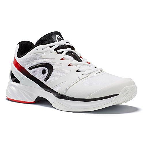 Head Sprint Pro, Zapatillas de Tenis Unisex Adulto, Blanco (White/Black), 43 EU