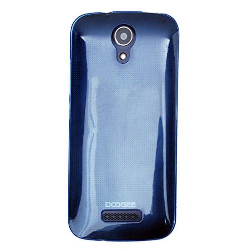 Guran® Weiche Silikon Hülle Cover für Doogee X3 Smartphone Bumper Case Schutzhülle-blau