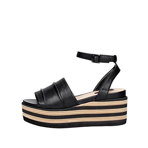 Fornarina PE17RI1009C087 Sandale Femme Black