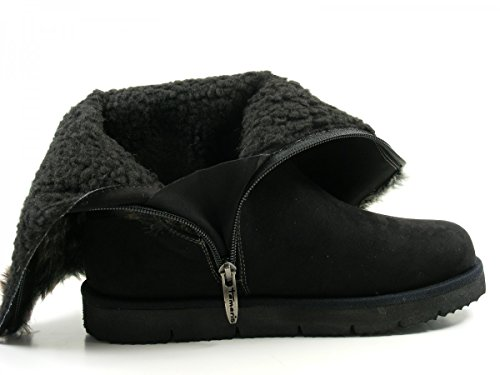 Tamaris 1-26408-27 bottes pour femmes Schwarz