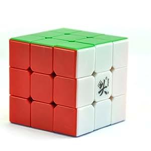 Dayan 5 ZhanChi 3x3x3 Speed Cube 6 couleurs cube de vitesse sans sticker pas d'autocollants
