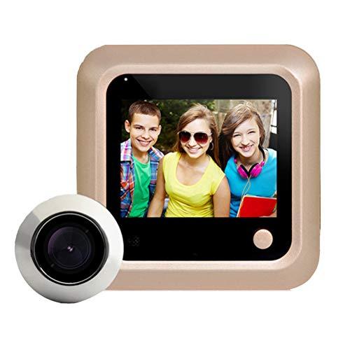 """Danmini Türspion mit Kamera, Bilder aufnehmen, großer Weitwinkel, 2,4\""""HD-Großbildschirm, FIFO-Funktion"""