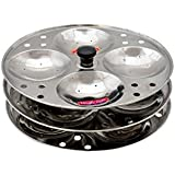 Sunshine Deals Peco 100% Stainless Steel Idli Maker/Stand , Set Of 3 Plates