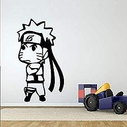 Personnage de Dessin animé Stickers Muraux pour Pépinière Enfants Chambre Garçons Vinyle Stickers Muraux Chambre Papier Peint Art Décoration Peintures Murales Rose 42X79cm