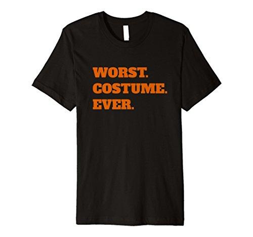 schlimmsten Kostüm Ever Funny Halloween Zitat Spruch T-Shirt