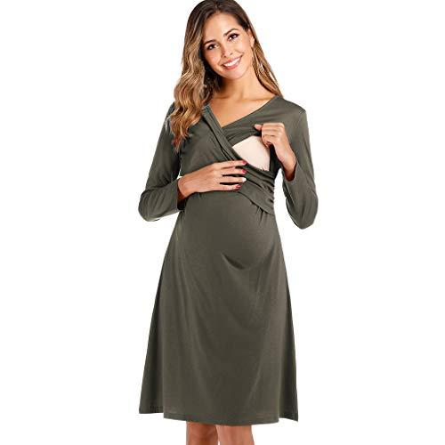 Lomsarsh Nursing Dress, Women's ...