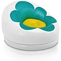 Preisvergleich für Intex Aufblasbarer Sessel Blume grün