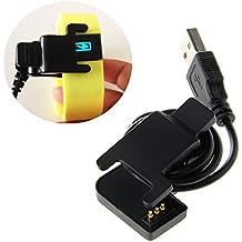 Cargador de carga con cable USB portátil para TW64/TW07 Smartwatch pulsera