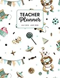 Teacher Planner 2019-2020: Dated Weekly Lesson Plan with Calendar & Vertical Days - Expecting A Baby Boy (Academic Year July 2019 to June 2020 - Pretty Sweet, Band 42)