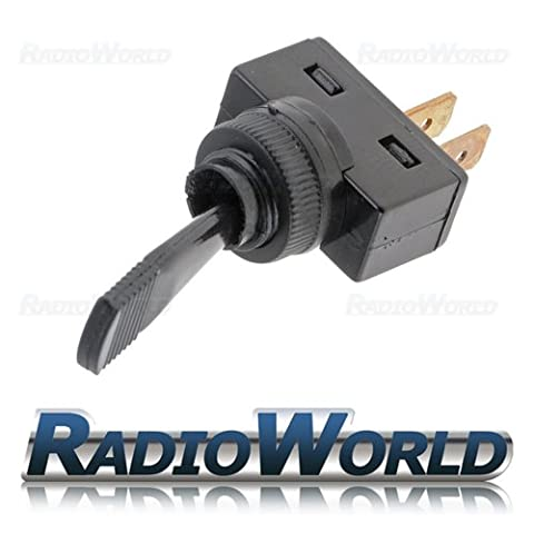 Black, ON, OFF, Momentary, Duckbill, Toggle, Switch, SPST, Car, Dash, Light, 12V, 20A