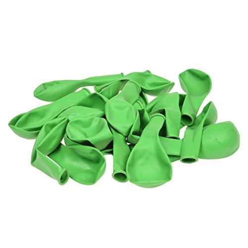 SODIAL(R) 25 x 10 pulgadas Globos de boda Verde de hierba Latex