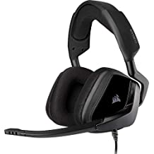 Corsair VOID Elite SurroenGaming Headset (7.1 SurroenSound, Microvezel en geheugenschuim oorkussens, voor PC, XBOXOne, PS4, Switch en mobiele aparaten) Zwart