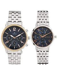Titan Modern Bandhan Analog Blue Dial Unisex Watch-17342569KM01