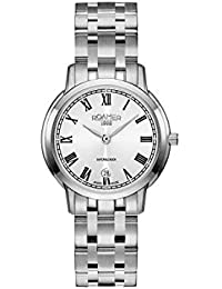 Roamer Women's Quartz Watch with Silver Dial Analogue Display and Silver Stainless Steel Bracelet 515811 41 22 50
