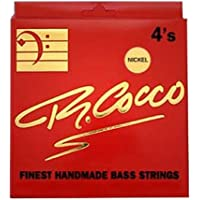 R. Cocco CO B FAT PACK 4 Pack grasso N Verde nickel Round Wound