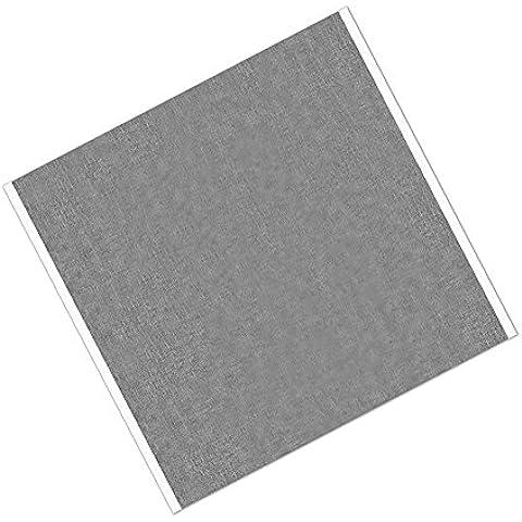 """TapeCase 4380 23,49 cm (9,25"""") 23,49 (9,25-25 x cm, in acrilico e argento-Nastro adesivo in alluminio, convertito 4380 da 3 m, da-30 a 300 gradi Fahrenheit Performance temperatura 8,25 (3,25 spesso cm, lunghezza (9,25 23,49 cm (confezione da 25)"""