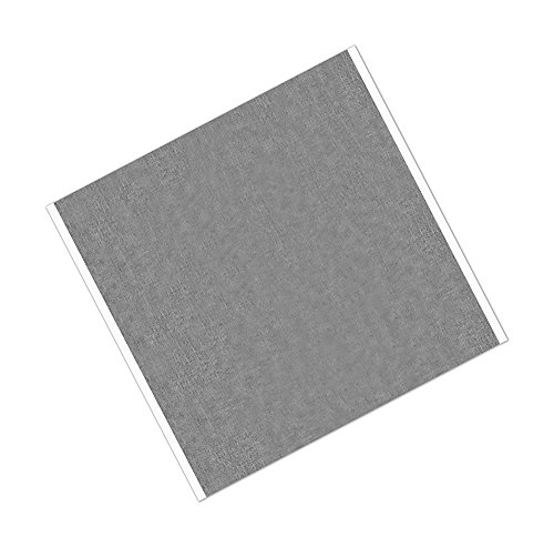 tapecase 438023,5x 23,5cm-25silber Acryl Aluminium-Klebeband 1973von 3M 4380,-30bis 300Grad Fahrenheit Leistung Temperatur, 8,3cm Dick, 23,5cm Länge (25Stück)