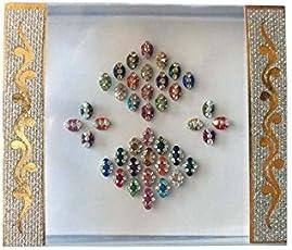 Anmol Gift Women's Unique Fancy Bindi, Small (Multicolour, A_026)