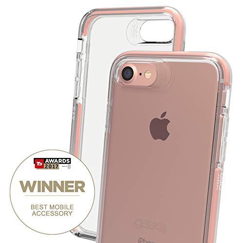 """Gear4 Piccadilly 11,9 cm (4.7"""") Funda Oro rosado - Fundas para teléfonos móviles (Funda, Apple, iPhone 7, 11,9 cm (4.7""""), Oro rosado)"""