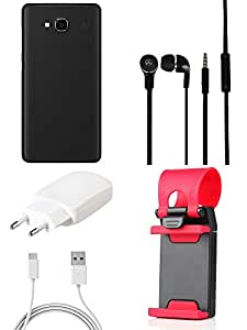 NIROSHA Cover Case Charger Headphone Mobile Holder for Xiaomi Redmi 2s - Combo