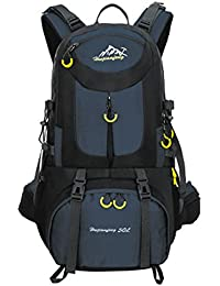Mochila de 50 litros, ideal para deportes al aire libre, Senderismo, Trekking, Camping Travel, Escalada. Bolso…
