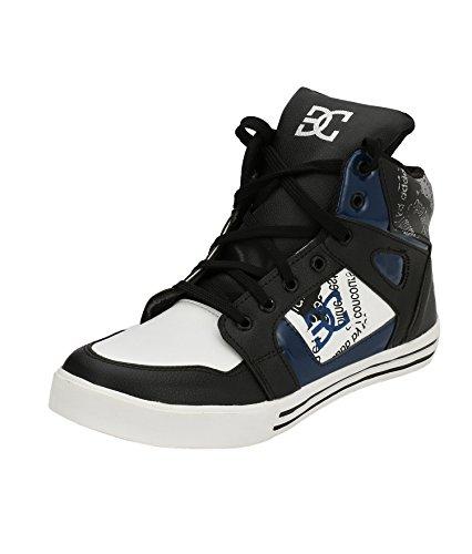 Server Men Lace Up Black Casual DC Sneaker Shoe UK: 6-10