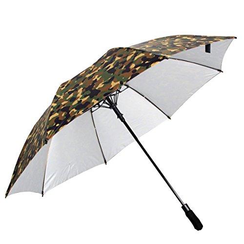 Milya Großer Outdoor-Regenschirme Taschenschirm Automatik Sonnenschirm UV-Sonnenschutz Faltbar...