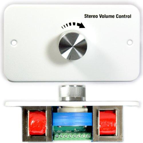Stereo-Lautsprecher Wand Lautstärkeregler Face Teller Outlet-verstellbar Sound Schalter-Hintergrund ändern Sound erhabenem/höher-Cablefinder - Decken Wand Outlet
