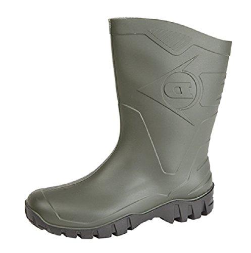 Dunlop, Stivali Wellington uomo Verde